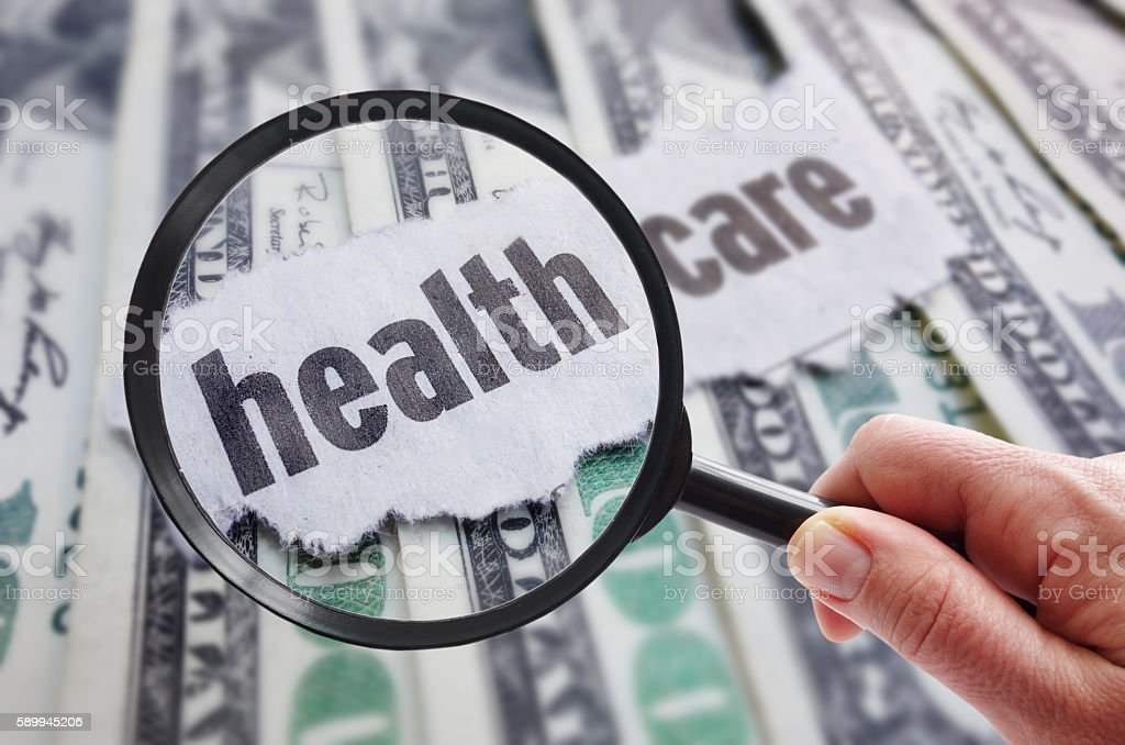 health care search stock photo