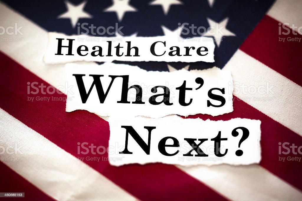 Health Care What's Next stock photo