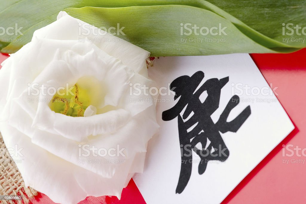 Health Chinese Sign royalty-free stock photo