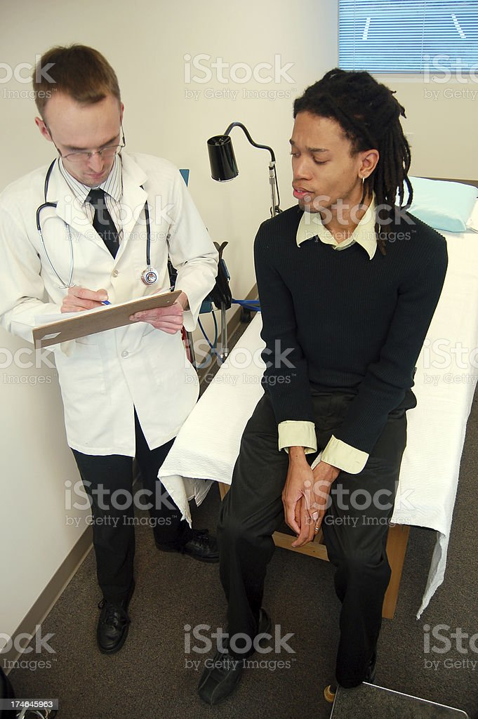 Health Concerns royalty-free stock photo