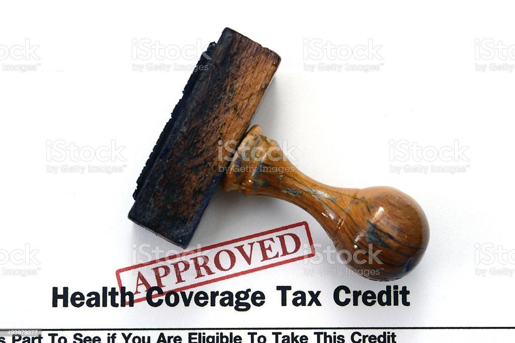 Health coverage stock photo