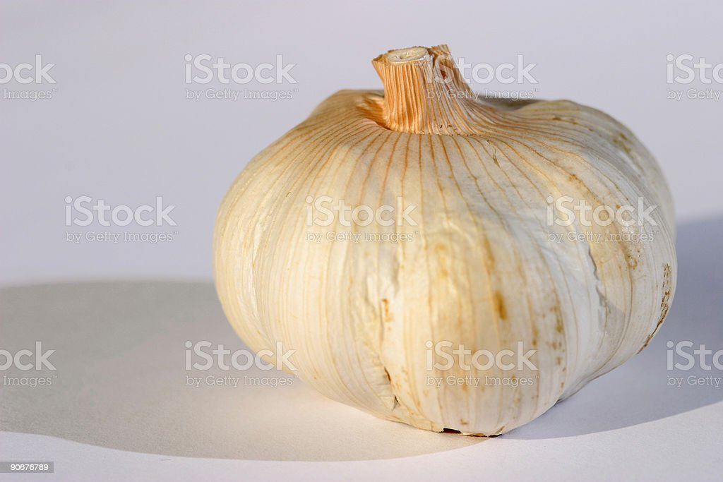 Health - garlic royalty-free stock photo