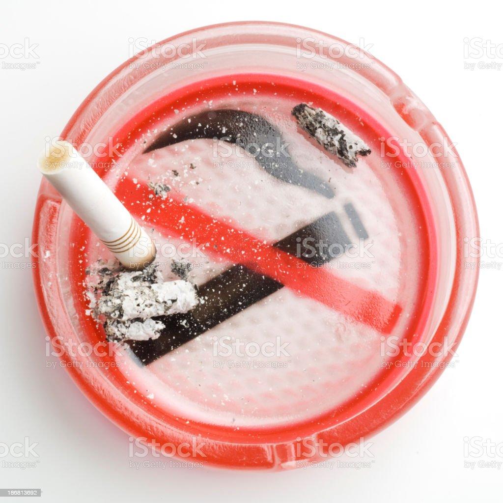 Health Hazards: Smoking royalty-free stock photo