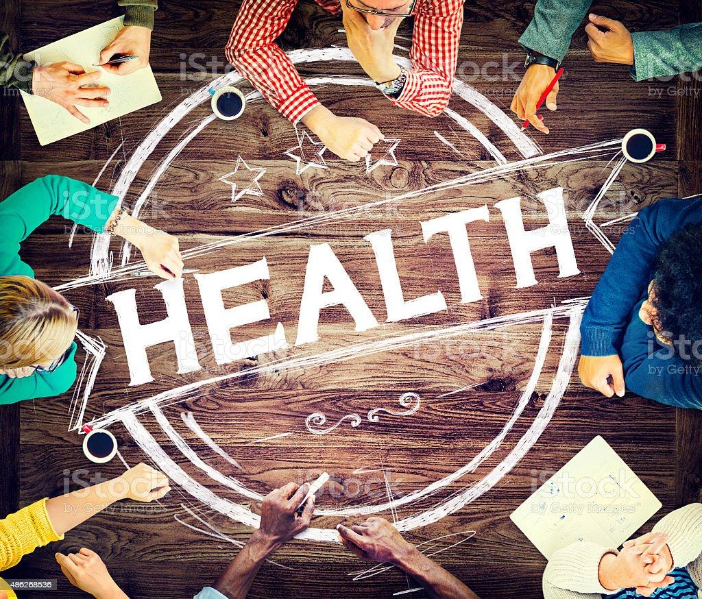 Health Healthcare Disease Wellness Life Concept stock photo