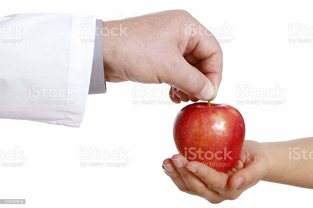 Health in your hands royalty-free stock photo