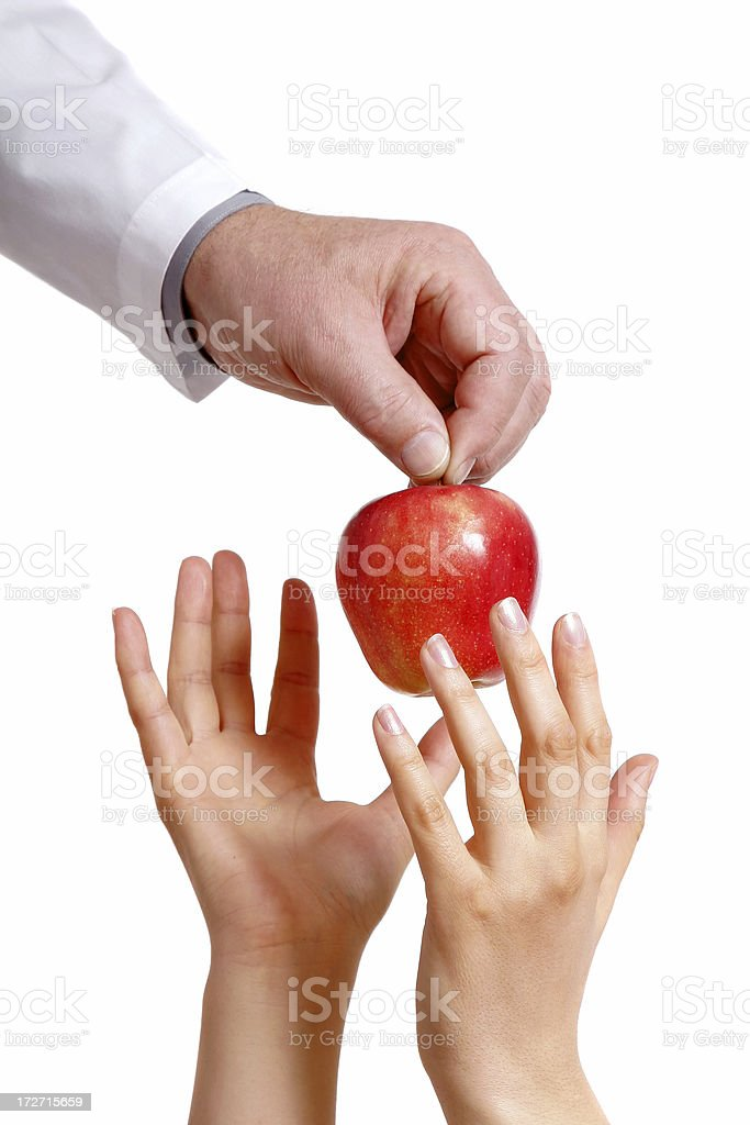 Health in your hands stock photo