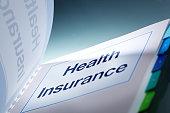 Health Insurance Open Enrollment Manual Handbook Horizontal Close-up