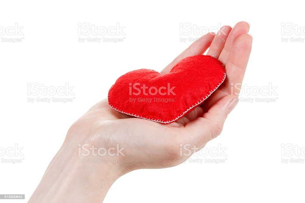 Health insurance or love concept stock photo