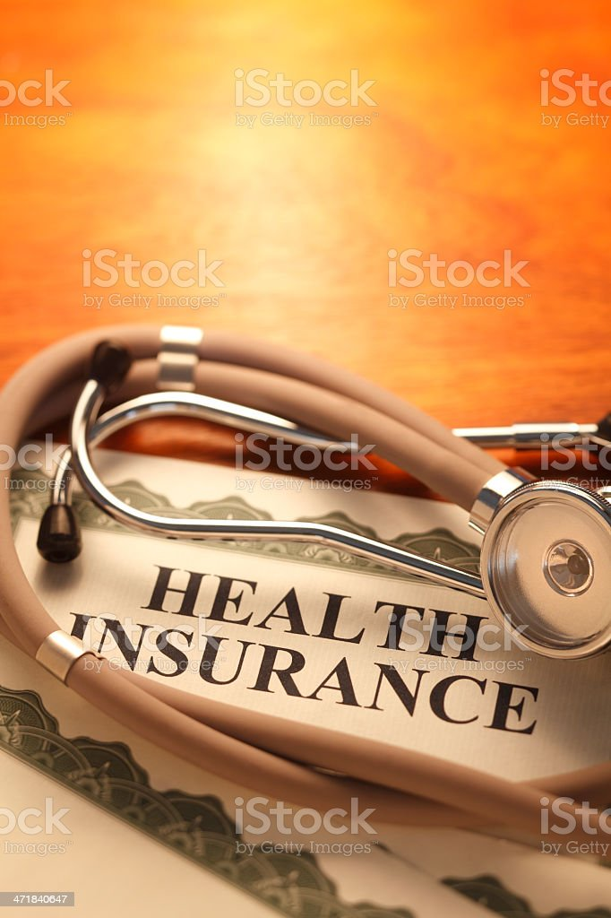 Health Insurance royalty-free stock photo