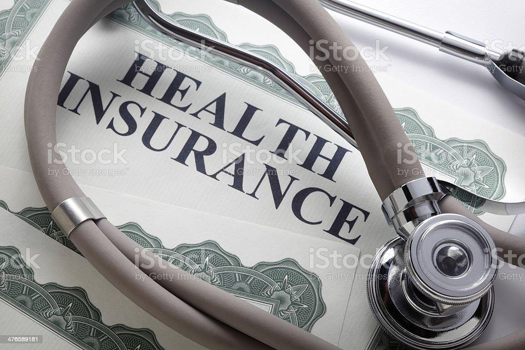 Health Insurance royalty-free stock photo