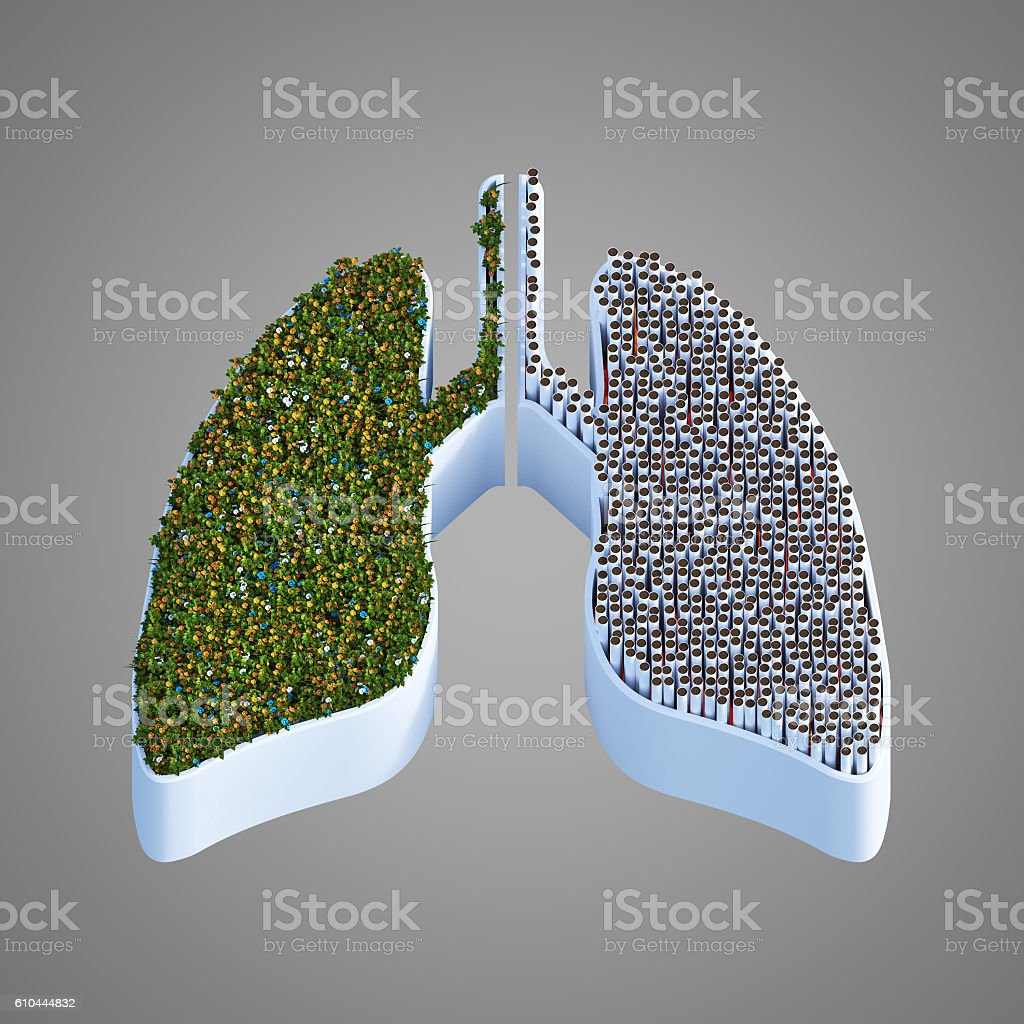 Health or death 3D render royalty-free stock vector art