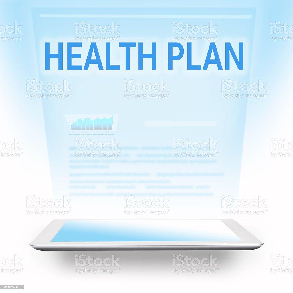 health plan stock photo