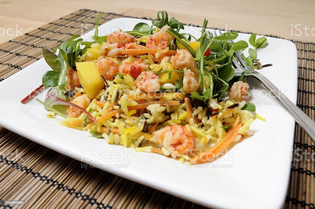 Health Salad royalty-free stock photo