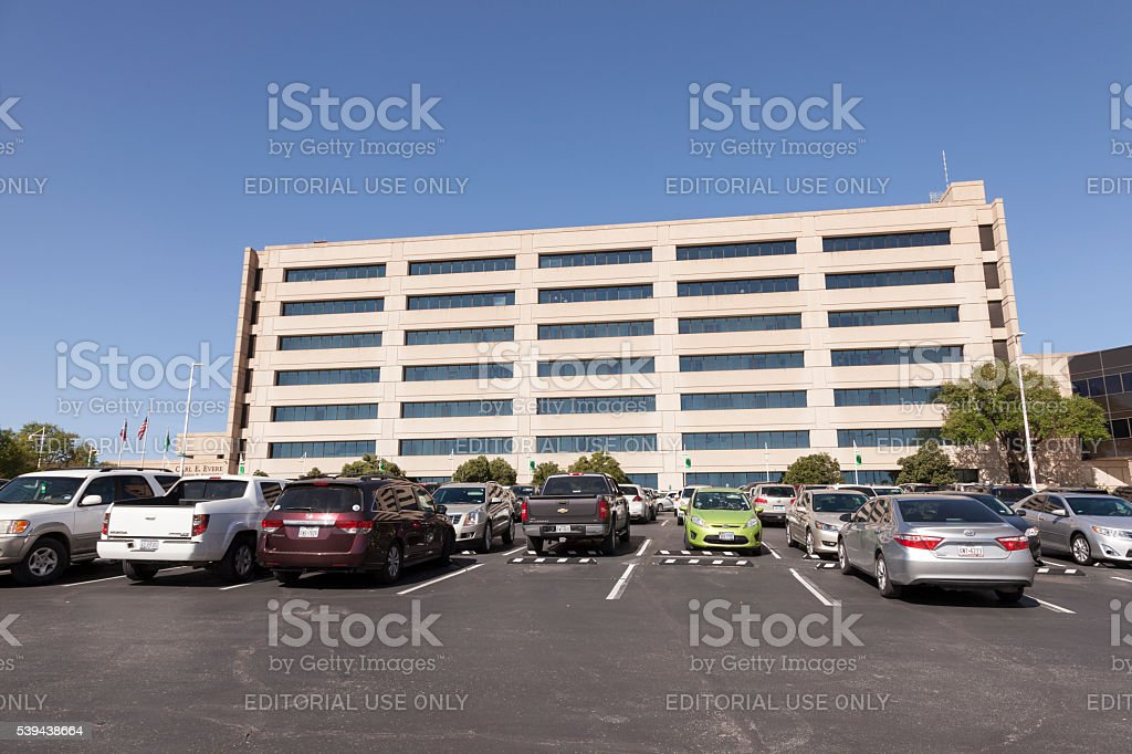 UNT Health Science Center in Fort Worth, TX, USA stock photo