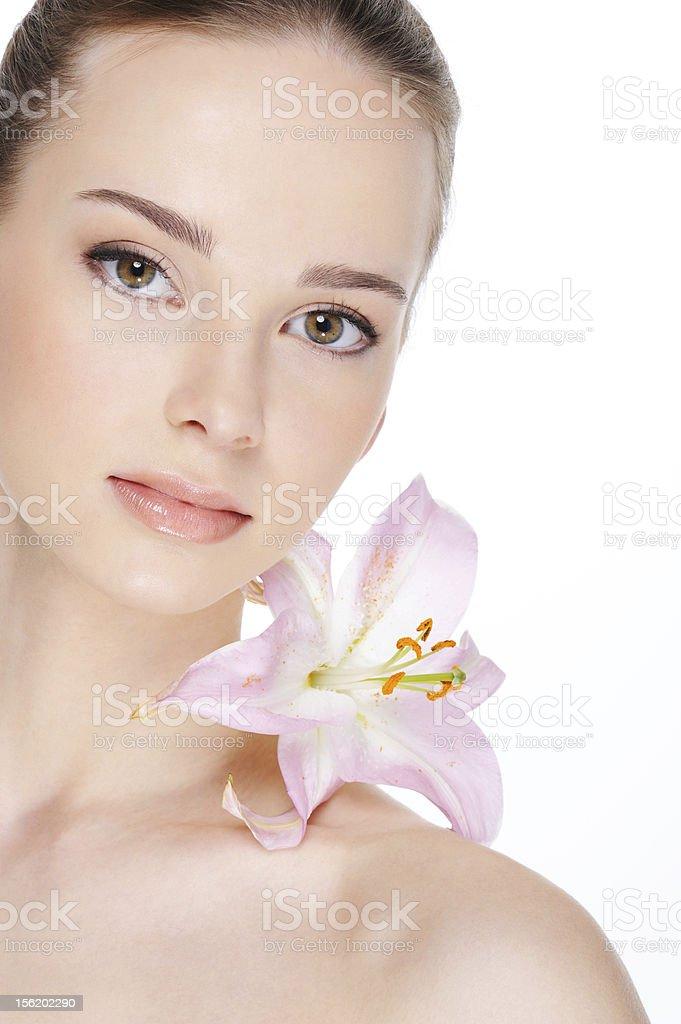 health skin of beautiful  woman royalty-free stock photo