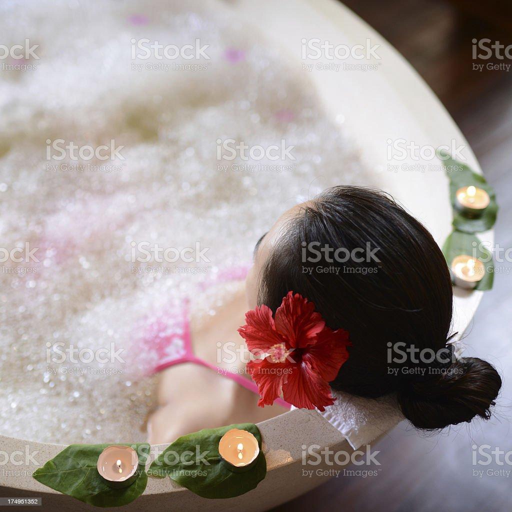 Health Spa And Luxury Bath royalty-free stock photo