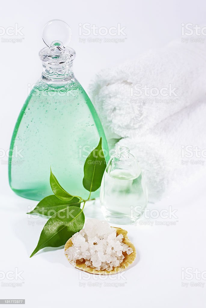 Health spa and wellness products royalty-free stock photo