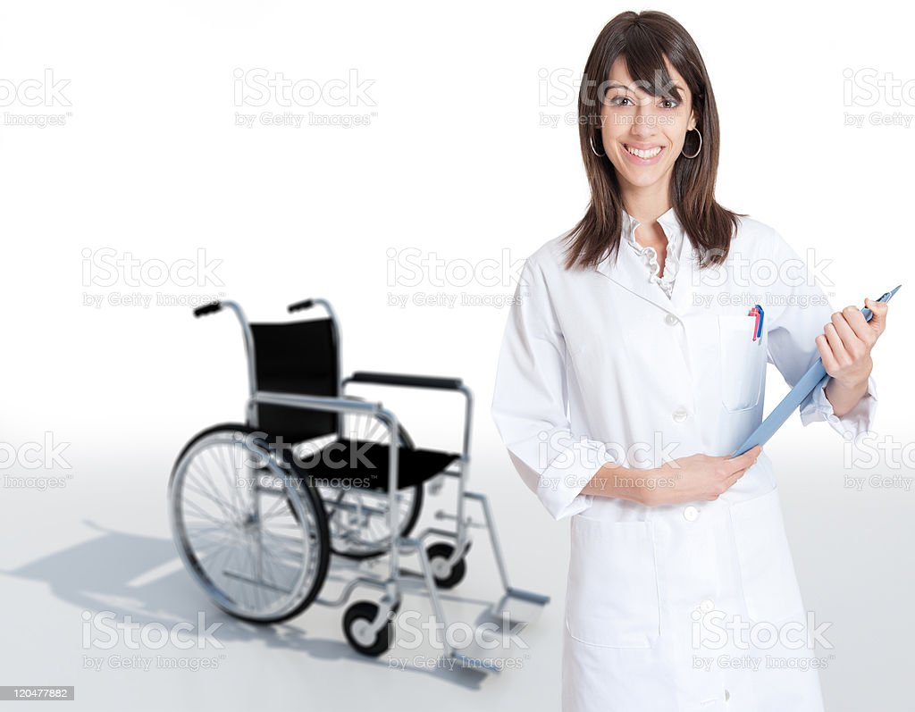 Healthcare admissions royalty-free stock photo