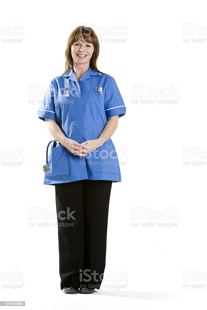 healthcare: care assistant royalty-free stock photo