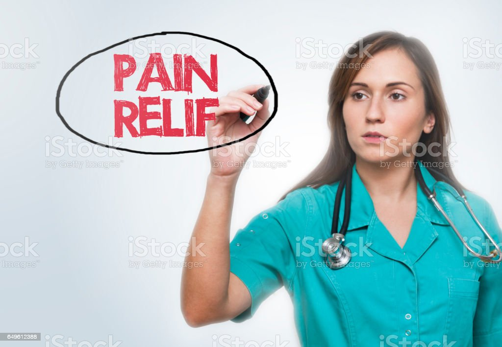 PAIN RELIF / Healthcare concept (Click for more) stock photo