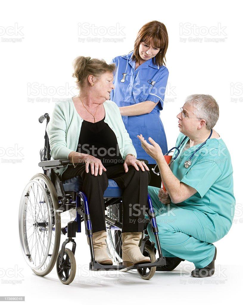 healthcare: consultation royalty-free stock photo