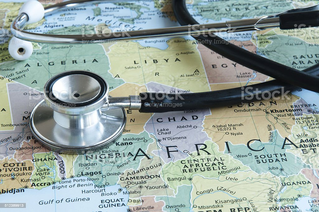 Healthcare In Africa stock photo