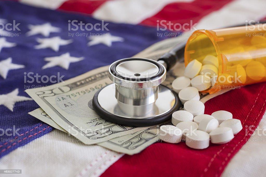Healthcare in America stock photo