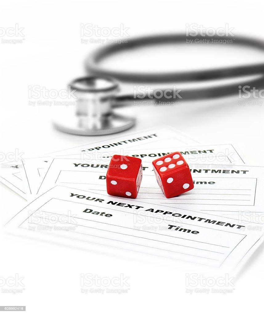 Healthcare Lottery 2 stock photo