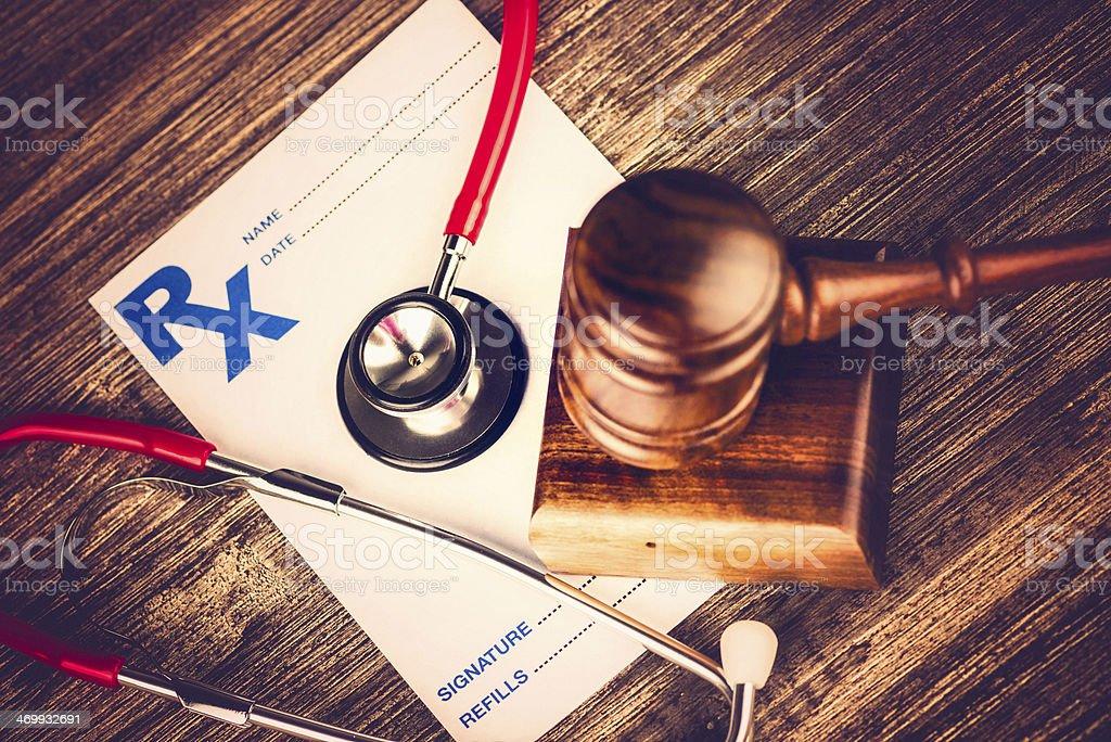 Healthcare Malpractice Concept stock photo