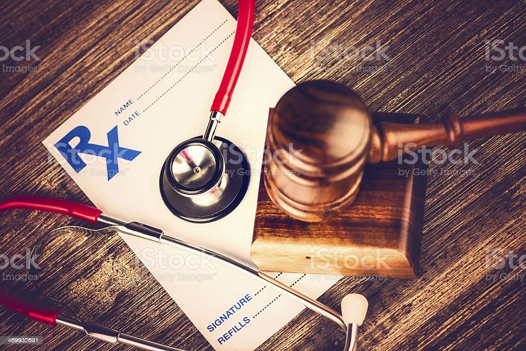 Healthcare Malpractice Concept stock photo