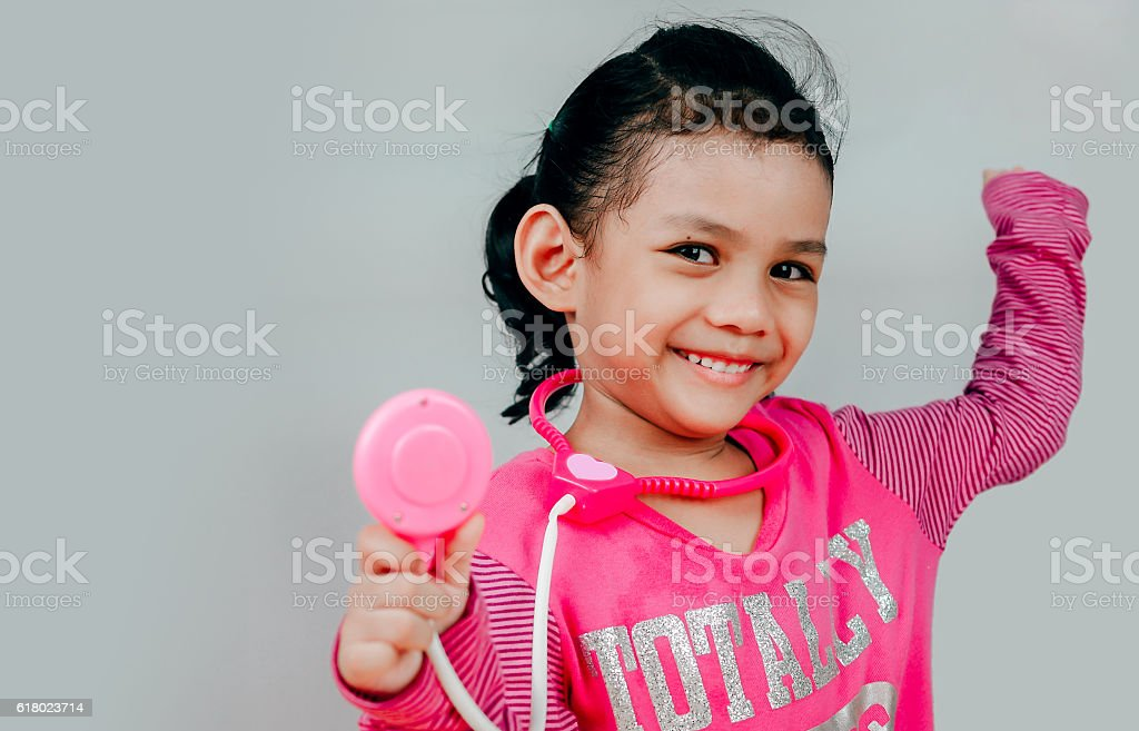 healthcare, medical exam, people, children and medicine concept stock photo