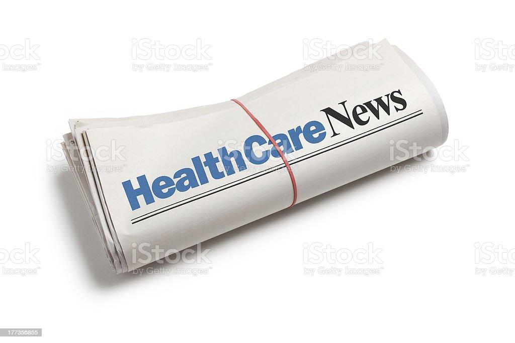 HealthCare News royalty-free stock photo