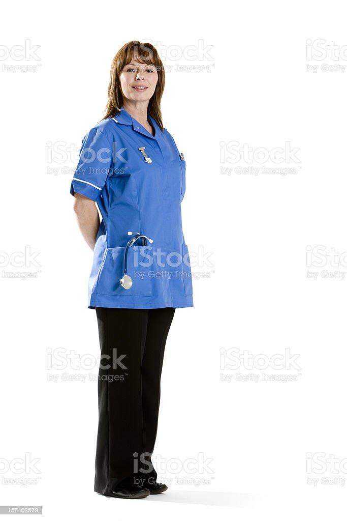 healthcare: nurse royalty-free stock photo