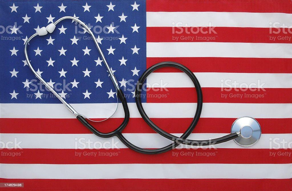US Healthcare royalty-free stock photo