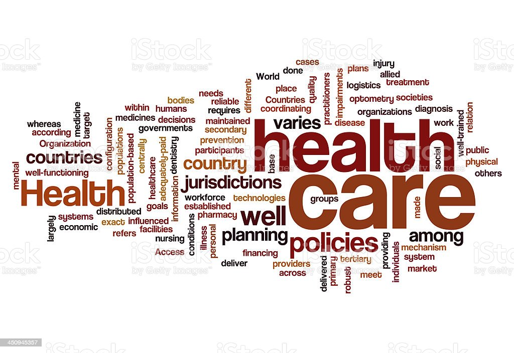 healthcare policy plan disease health concept background stock photo