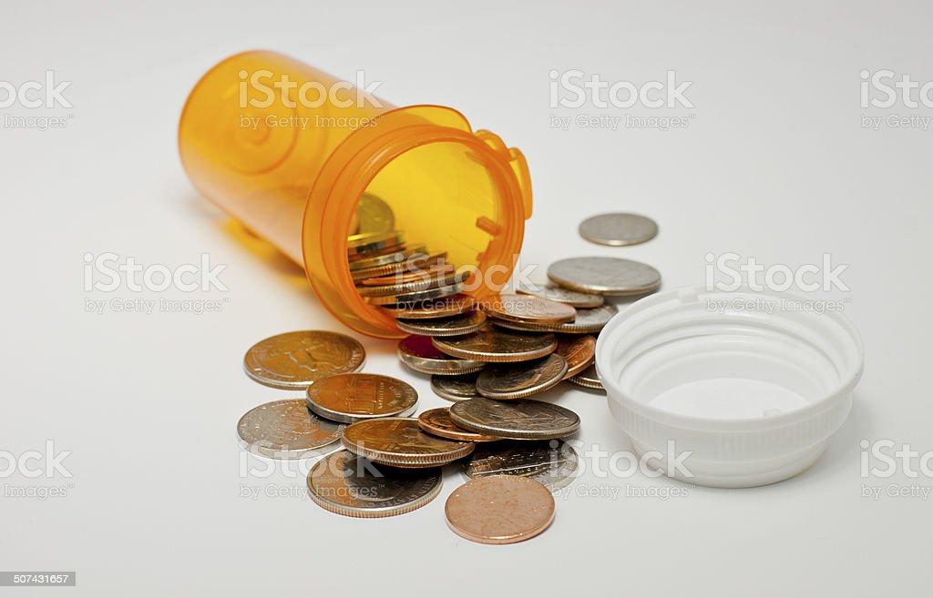 Healthcare Prescription Bottle stock photo