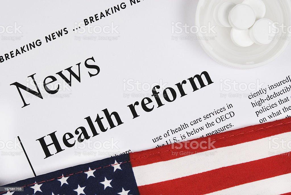 US Healthcare Reform - III stock photo