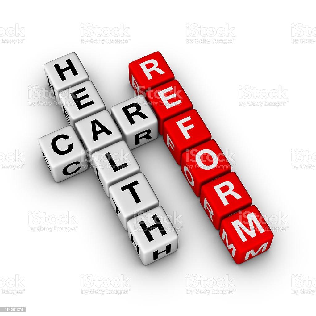 Healthcare Reform stock photo