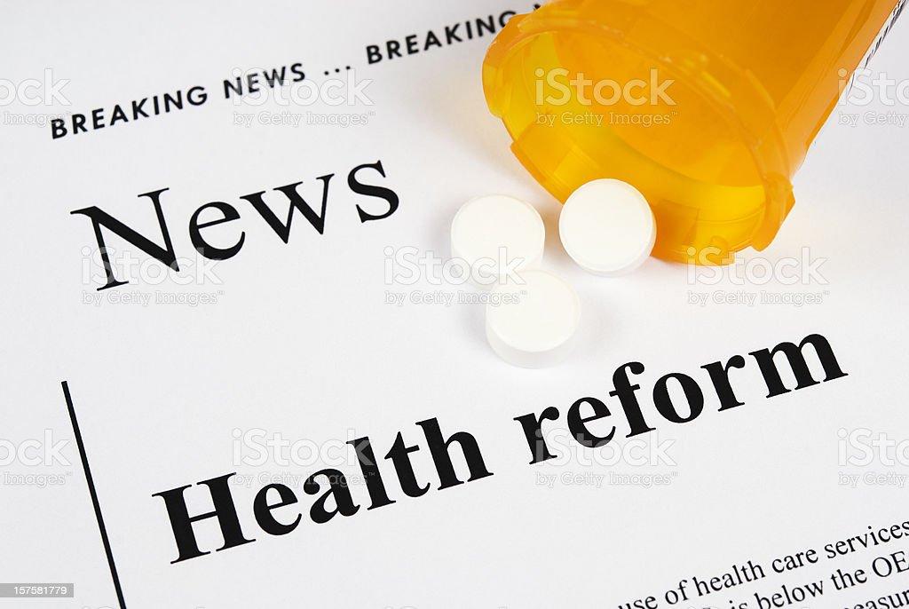 Healthcare Reform - VI royalty-free stock photo