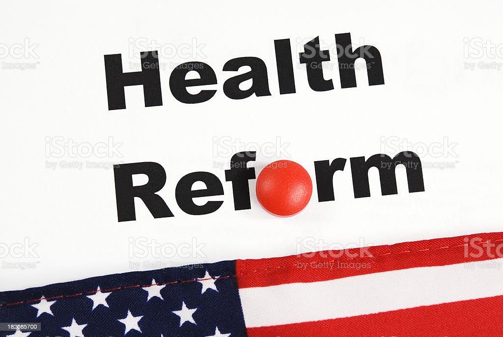 US Healthcare Reform - VII stock photo