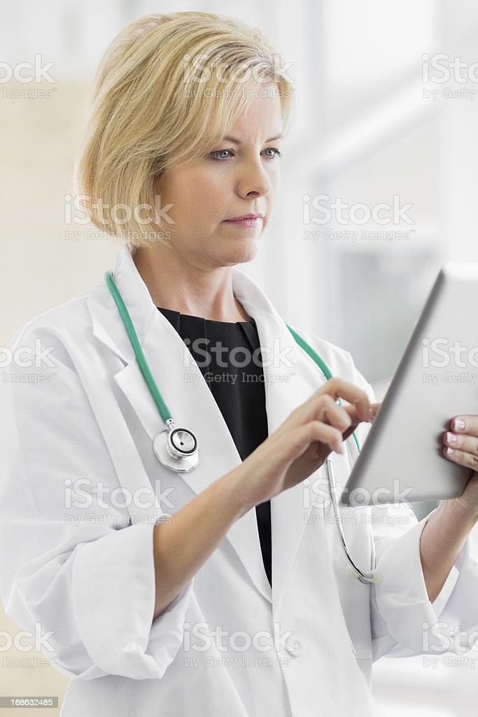 Healthcare Transitions to Digital Record Keeping stock photo