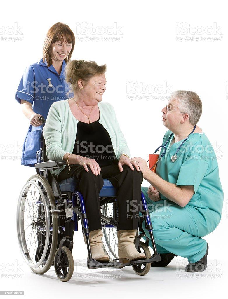 healthcare: treatment royalty-free stock photo