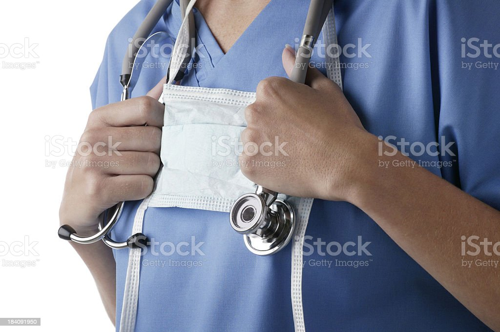 Healthcare Worker royalty-free stock photo