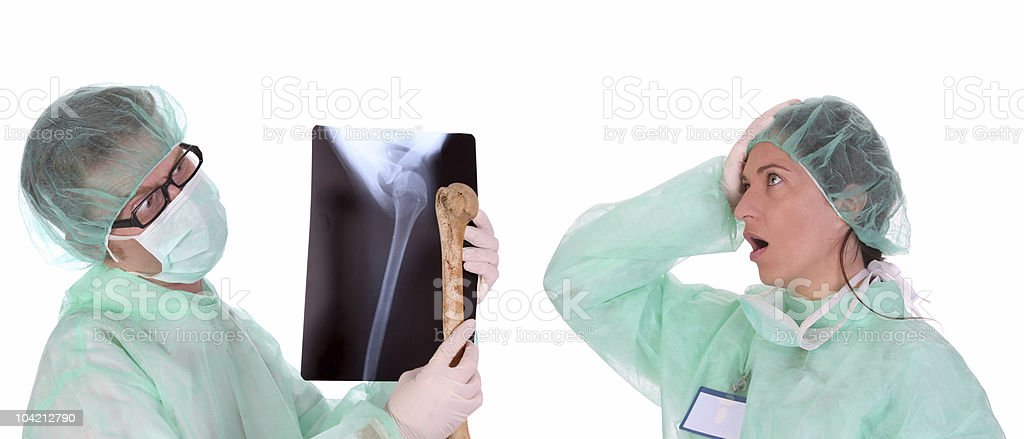 healthcare workers royalty-free stock photo