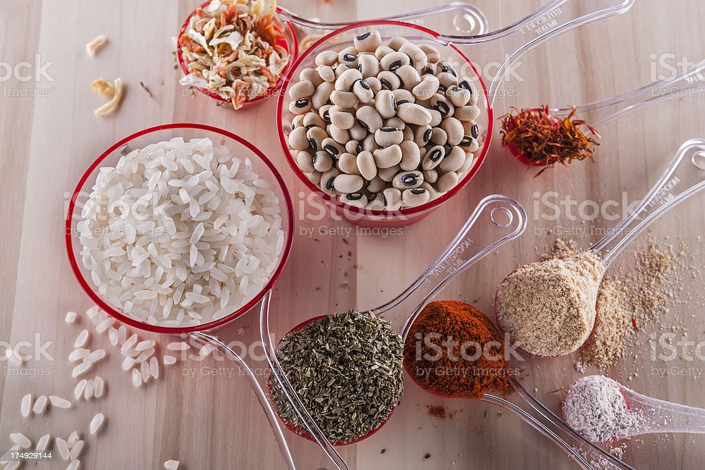 Healthful Cooking stock photo