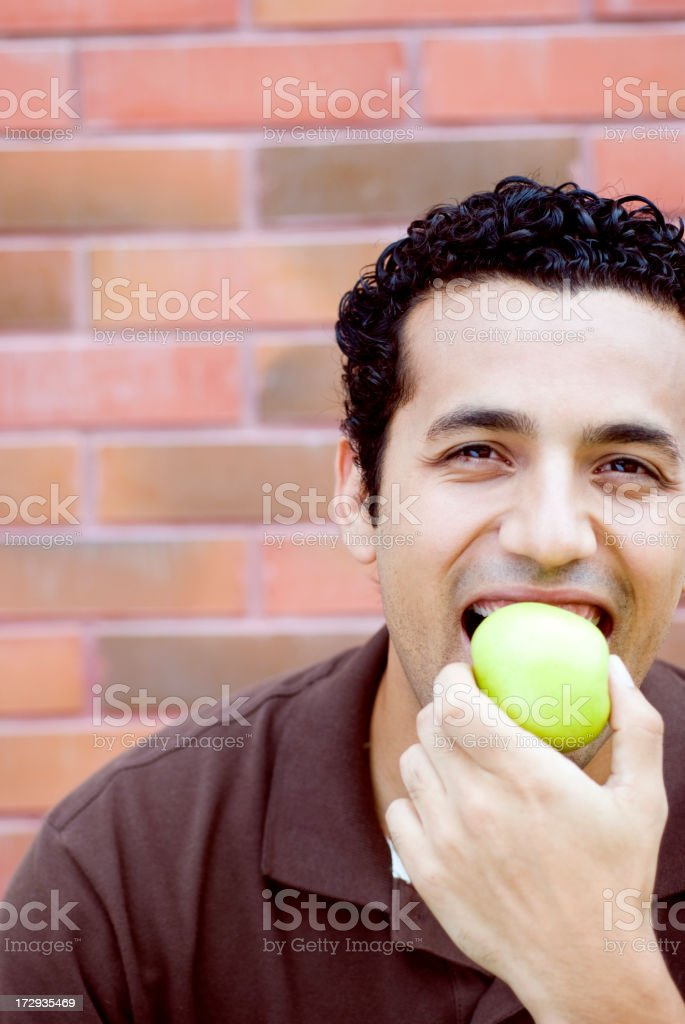 Healthful young man royalty-free stock photo