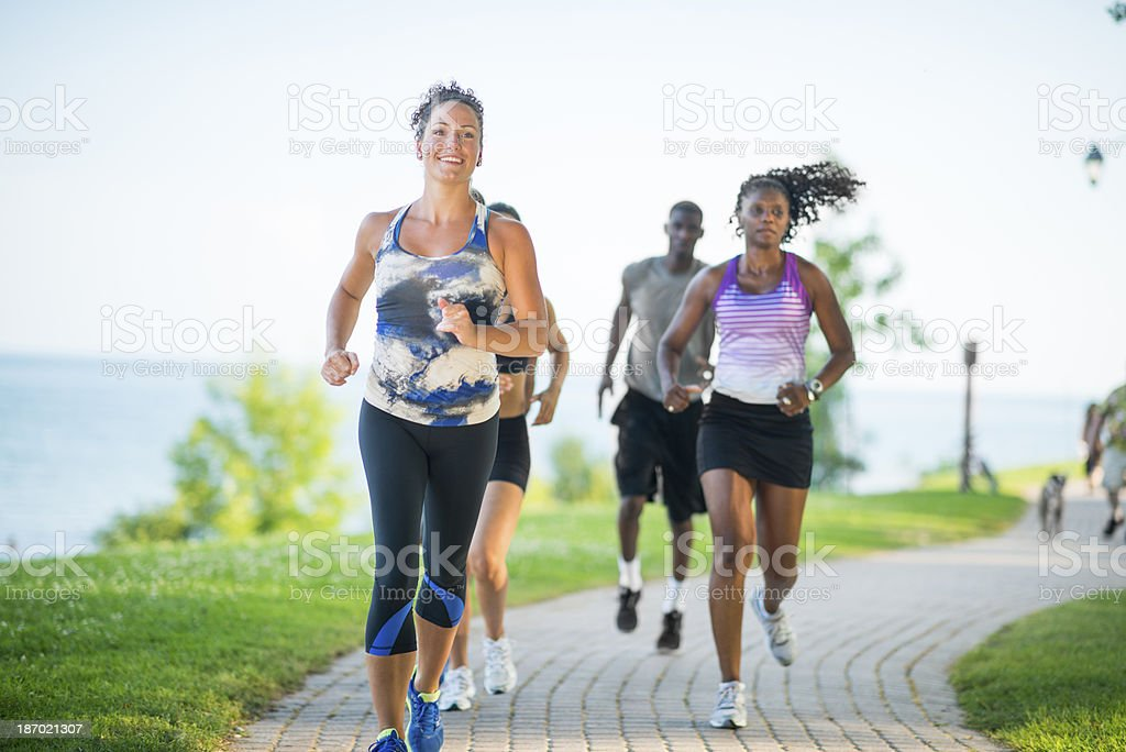 Healthy Active Lifestyle stock photo