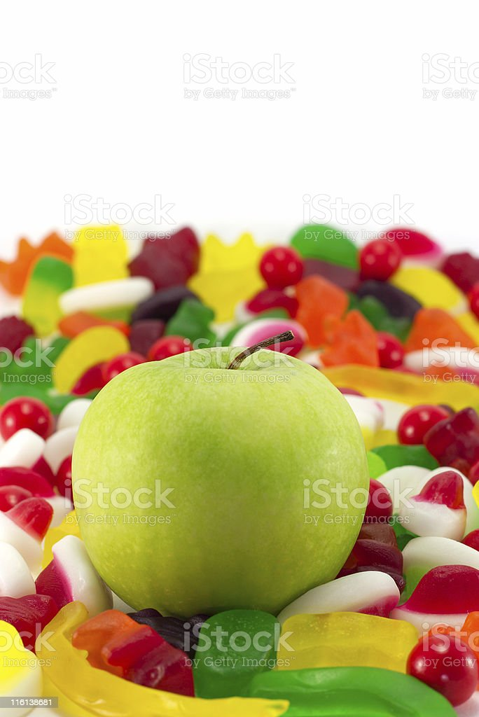 Healthy alternative. stock photo
