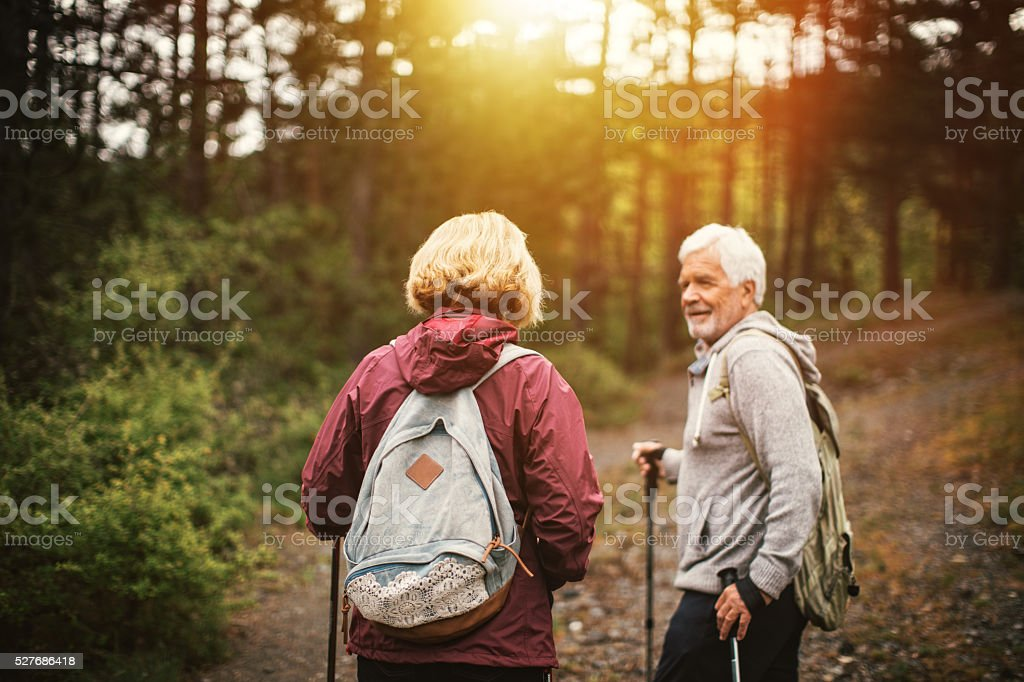 Healthy and active stock photo