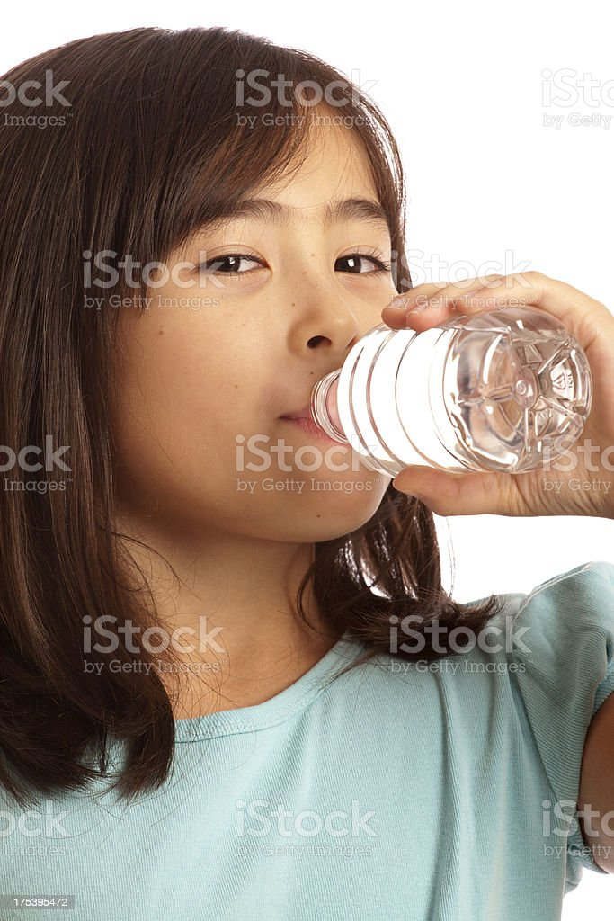 Healthy and Drinking Water royalty-free stock photo